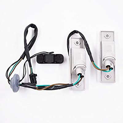 labwork Rear Trunk Release Switch + Licence Plate Lamp 96951097 for 2011-2014 Chevrolet Cruze: Automotive
