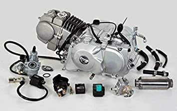 Motor completo POLINI 125 Moto De Cross Pit Lifan YX XP4: Amazon.es: Coche y moto
