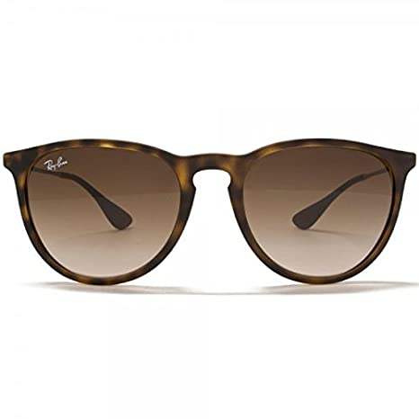 df5328e1c1 Amazon.com  Ray-Ban RB4171 Erika Sunglasses Matte Havana w Brown Gradient  (865 13) 4171 86513 54mm Authentic  Clothing