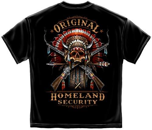 Mens 2A Shirts | 2nd Amendment Original Homeland Security Shirt ADD-RN2395XL