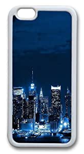 For LG G2 Case Cover For LG G2 Case Cover -New York City Skyline world Hard shell Silicone pc For LG G2 Case Cover White