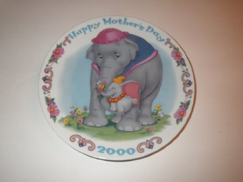 Disney's Happy Mother's Day 2000 Collector Plate - Dumbo and Mother ()