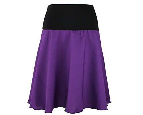 Design Dunkle Falda Mujer Morado Para Tellerrock R4p4wHq