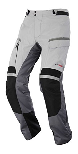 Alpinestars Valparaiso Drystar Pants , Gender: Mens/Unisex, Distinct Name: Black/Light Gray/Dark Gray, Primary Color: Gray, Size: XL, Apparel Material: Textile 3224014-9211-XL