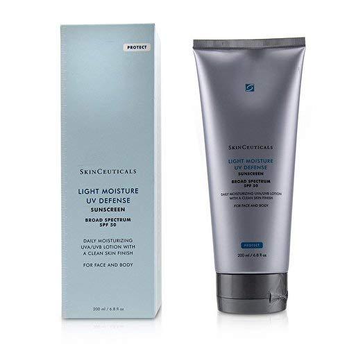 SkinCeuticals Light Moisture UV Defense Sunscreen Spf50 6.8 Oz