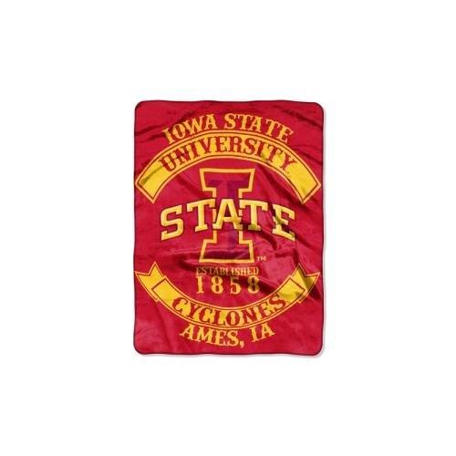 Northwest NCAA Iowa State Cyclones Rebel Plush Raschel Throw, 60