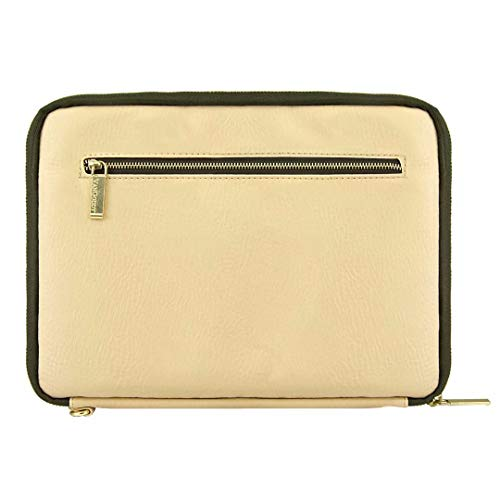 - Zippered Tablet Sleeve for Huawei MediaPad T3 7 / M5 / T3 8 | T2 8 Pro | Honor Tab 5 | Tablets up to 8.5in Tan-Olive Green
