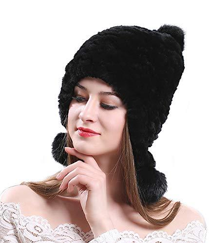 Rex Rabbit Fur Hat - 4