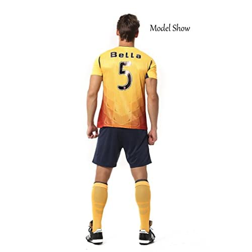 9883d330a28 80%OFF Ucan Customize Full Logo Series Professional Soccer Jersey with  Short Adult Size