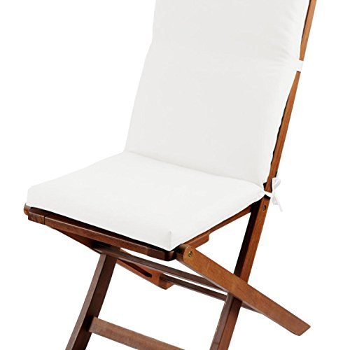Cojín de silla 40 x 90 cm Sunny Outdoor color crudo 100 ...