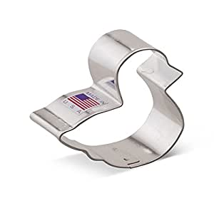 Ann Clark Duckling Cookie Cutter - 2.5 Inches - Tin Plated Steel