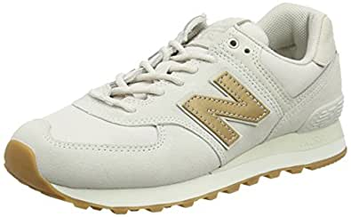 New Balance Womens WL574CLS Wl574cls White Size: 6.5