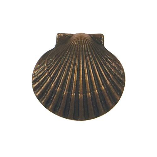 Bay Scallop Doorbell Ringer - Oiled Bronze