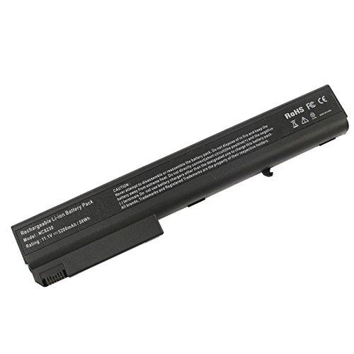 Futurebatt New 5200mAh Battery for HP Compaq 6720t 7400 8200 8400 8500 8510p 8510w 8700 8710p 8710w 381374-001 HSTNN-DB06 Notebook