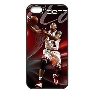 Chicago Bulls Derrick Rose Image Theme Back TPU Case for iPhone 5/5s-by Allthingsbasketball