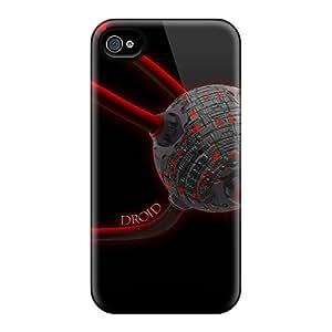 Hot Design Premium DhN18526JPFw Cases Covers Iphone 6plus Protection Cases(droid Space)