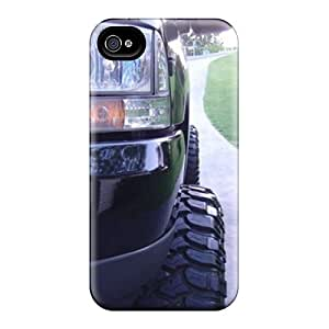 Scratch Resistant Cell-phone Hard Cover For Iphone 4/4s (oUr1891BQqo) Provide Private Custom Stylish Ford Truck Skin
