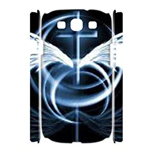 ALICASE Cover Case Jesus Christ Cross 3D Diy For Samsung Galaxy S3 I9300 [Pattern-1]