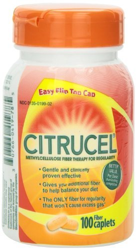 Citrucel Methylcellulose Fiber Therapy Caplets - 100 Each, by Citrucel (Therapy Caplets)