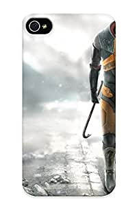 Flexible Tpu Back Case Cover For Iphone 4/4s - Half Life