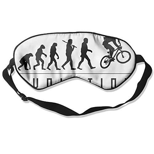 Sleep Eye Mask Motocross Evolution Lightweight Soft Blindfold Adjustable Head Strap Eyeshade Travel Eyepatch