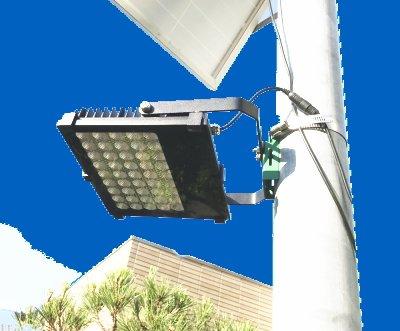 1200ルーメンの大型ソーラーLEDライト 明るい常夜灯駐車場灯 GF500B-10W-1200L【1年保証】 B0723F5R3Q