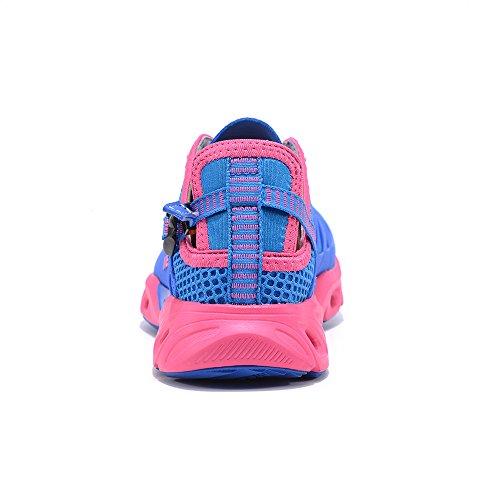 MERRTO Womens Trekking Shoes (6.5, Blue)
