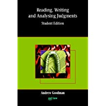 Reading, Writing and Analysing Judgments