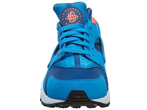 Uomo Pure da Obsidian Nike White Ginnastica Blue Blu Scarpe 420 Air Platinum Gym Huarache FZxwqzX