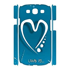 Love Brand New 3D Cover Case for Samsung Galaxy S3 I9300,diy case cover ygtg605110