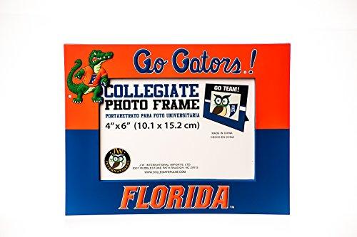 Ncaa Picture Frame (FLORIDA GATORS NCAA PVC PHOTO FRAME)