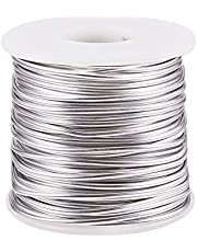 PH PandaHall 16 Gauge Anodized Aluminum Wire Bendable Metal Craft Wire Flexible Artistic Floral Jewelry Beading Wire