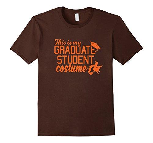 [Mens Graduate Costume October College Graduation T Shirt Small Brown] (College Graduate Halloween Costume)