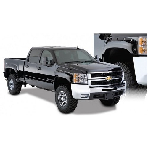 Bushwacker 40924-02 Pocket Style Fender Flares 07-12 Chevrolet Silverado Set by Bushwacker