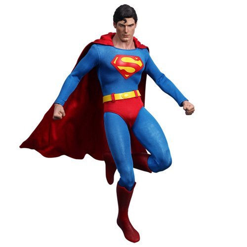 Hot Toys Movie Masterpiece 1/6 Scale Collectible Figure Superman Christopher Reeves - Christopher Reeve Superman Costume