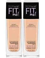 Maybelline New York Fit Me Dewy + Smooth Foundation...