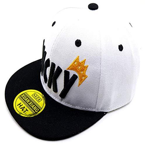 SELYGorra de béisbol de Hip Hop Gorra de Corona al Aire Libre para ...