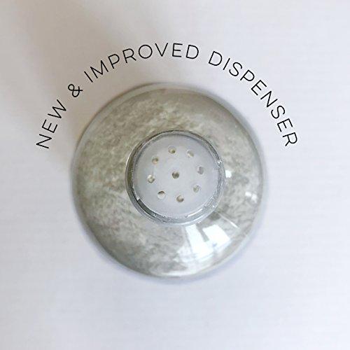 Natural Vegan Dry Shampoo Powder for Light Hair Blondes (2.4oz) by Handmade Heroes (Image #3)