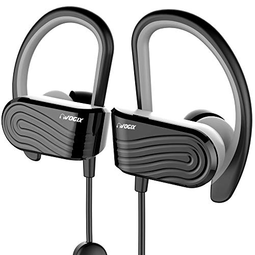 Vogix® Smasher H01 Sporty Bluetooth Wireless Headset with Mic (Black)
