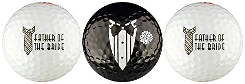 Bride Golf (Father of the Bride Wedding Variety Golf Ball Gift Set)