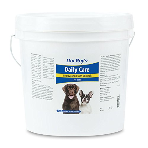 Doc Roys Daily Care Canine Tabs 2500ct by Revival Animal Health