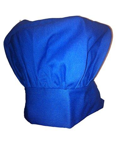Blue Mushroom Chef Hat