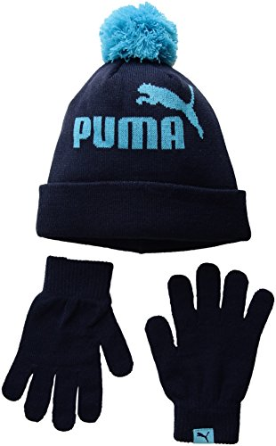 fe2f0ab4c80 PUMA Kids Evercat Polar Youth Beanie and Glove Set