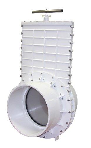Valterra PVC Gate Valve for Irrigation, Landscape, and More - 12-Inch Slip x Slip Connection