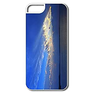 IPhone 5 5S Protector, Sky Light White Cases For IPhone 5 5S