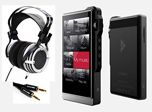 iBasso Audio SR1 High Definition Headphone and iBasso DX200 Audio Player (SR1 + DX200)