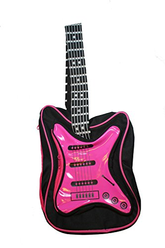 Amazon Black And Pink Guitar Backpack