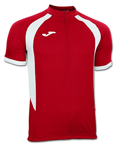 JOMA T-SHIRT GIRO RED-WHITE S/S XS