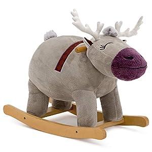 Delta Children Frozen II Sven Plush Rocking Horse, Disney Frozen II