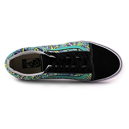 Vans Old Skool zapatillas negro azul blanco